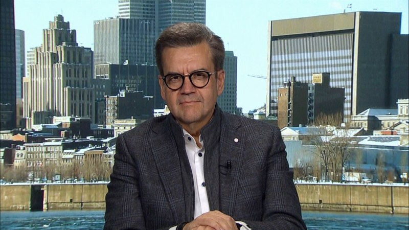 Former Liberal minister and Montreal mayor Denis Coderre appears on CTV's Question Period on Sunday, November 17, 2019.