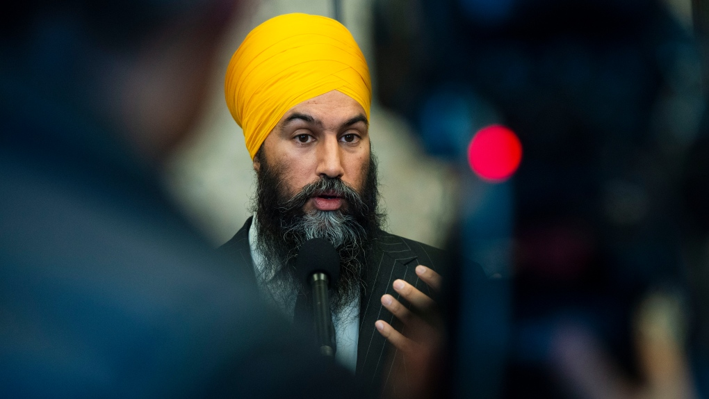 'Remember who we're fighting for,' Singh says as 24 NDP MPs sworn in