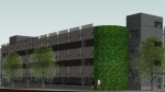 The building would be a precast concrete parking structure with access from both Summit Avenue and Nanaimo Street. (City of Victoria)