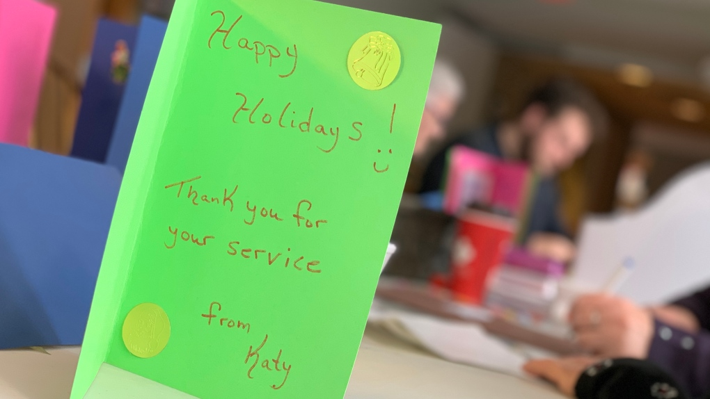 Dear soldier: Letters from home for the holidays