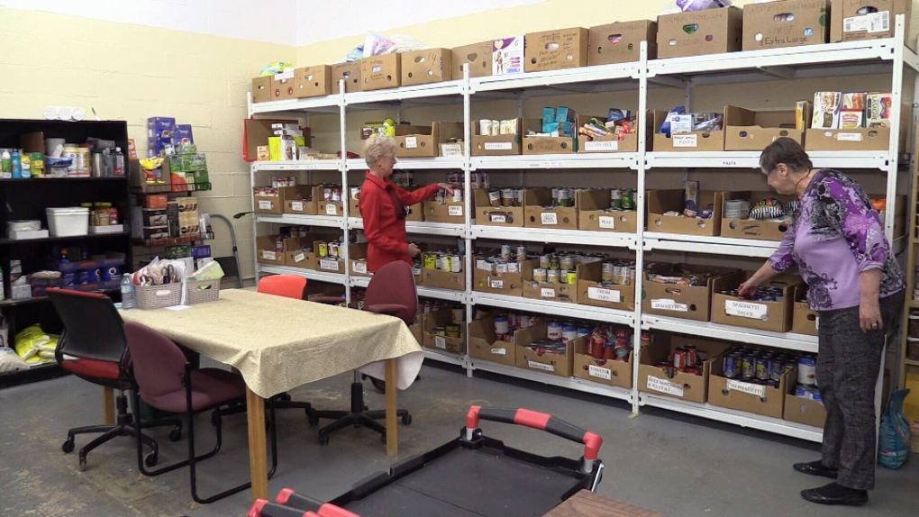 'Without a place like this, you'd be done': Food bank demand at all-time high