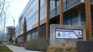 The Kelowna RCMP detachment is seen in this file photo.