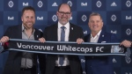 The Vancouver Whitecaps announced their new sporting director Friday. He's a veteran soccer executive from Germany.