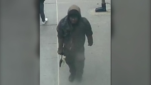 Calgary police released this photo of the assault suspect in November. Thanks to tips from the public, he has been arrested and charged. (Calgary Police Service)