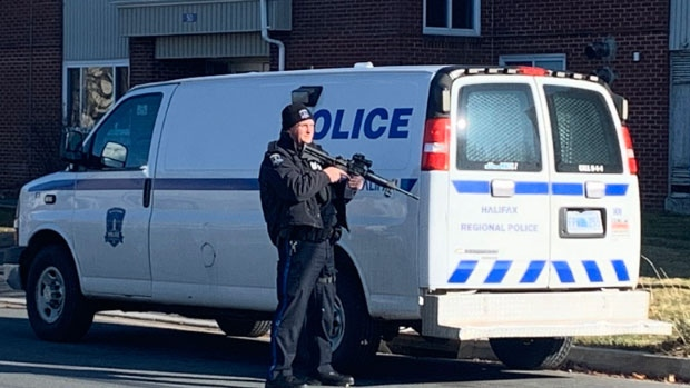 Halifax Regional Police are dealing with a barricaded person in the area of Roleika Dr. in Dartmouth and advising the public to avoid the area.