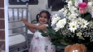 Crystal Mirogho, 2, died in hospital after being struck by an air conditioner unit that fell from the window of a city-owned apartment building in Scarborough. (CTV News Toronto)