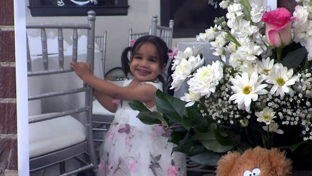 'She was our little angel': Community mourns two-year-old girl killed by falling air conditioner