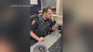 A scammer pretending to be from the Canada Revenue Agency picked the wrong person to call earlier this week. (@vicpdcanada/Twitter)