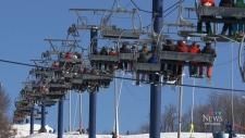 Ski season begins at Camp Fortune