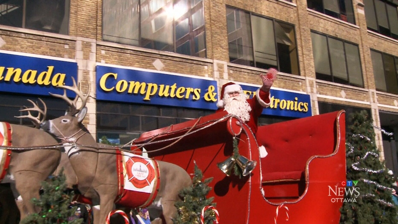 Thousands of people usually attend the Help Santa Toy Parade every year. (File photo)