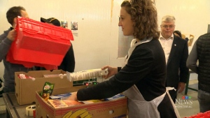 CTV Montreal: Quebecers and food banks