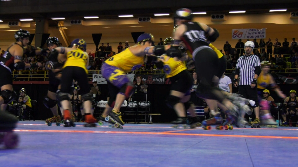 Roller Derby championship held in Montreal this weekend