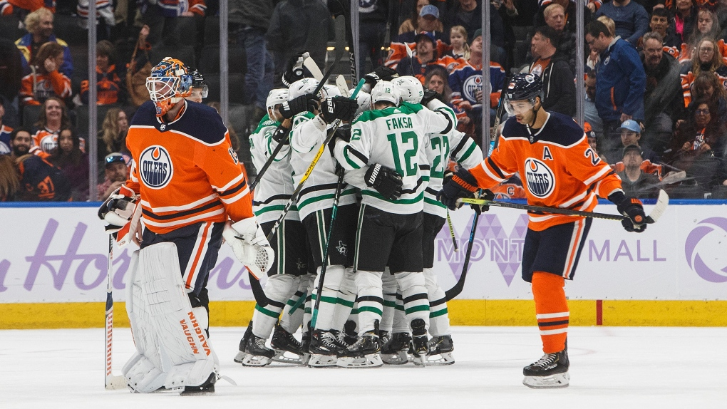 Stars take 5-4 victory over Oilers in overtime