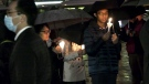Hong Kong 'freedom fighters' honoured at vigil