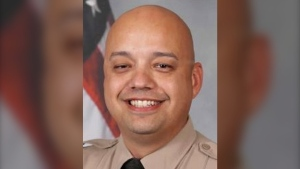 This undated photo provided by the Pima County Sheriff's Department shows Deputy Manuel Van Santen. (AP Photo provided by Pima County Sheriff's Department)