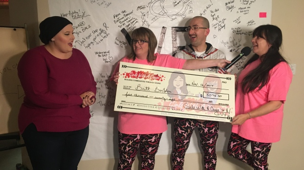 North Bay continues to support CTV Northern Ontario's Brittany Bortolon in her fight against breast cancer - CTV News