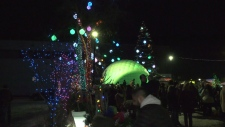 Thousands came out for the All is Bright festival Saturday night.