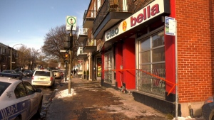An early morning Nov. 17, 2019 fire in a Plateau pizzeria has been deemed suspicious after an accelerant was found on scene.