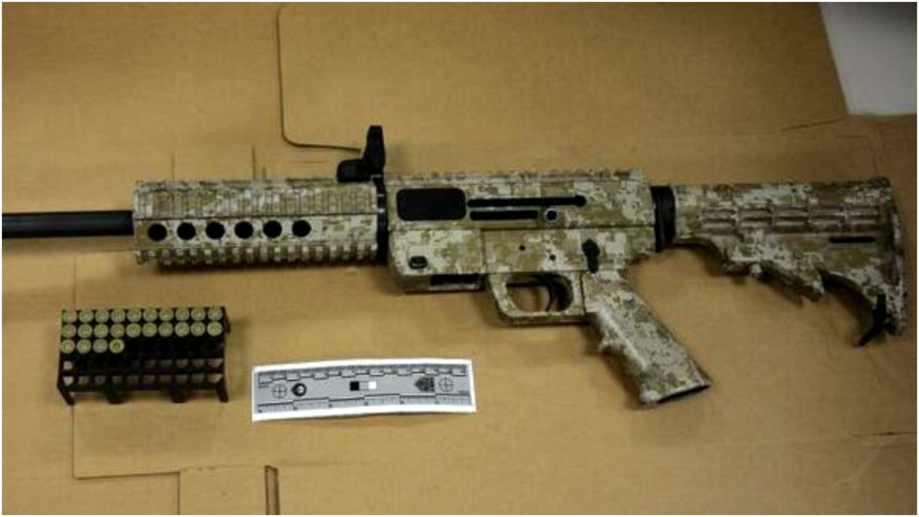 Toronto police seize semi-automatic rifle, charge 6 people, including 3 teens in west end raid