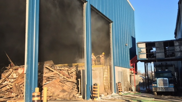Fire causes significant damage to Waterford business - CTV News London