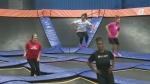 People jumping at Sky Zone Winnipeg. (File image/ CTV News Winnipeg)