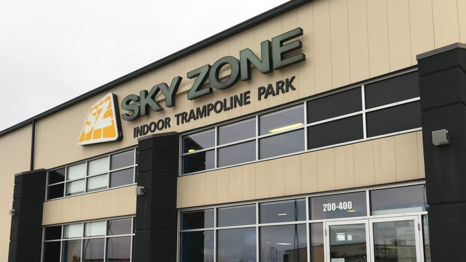 Sky Zone Winnipeg shutting down in December. (Source: Mike Aresnault/ CTV News Winnipeg)