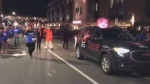 The annual Parade of Lights marched through the streets of Halifax on Saturday night.