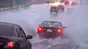 A heavy rainfall on Nov. 16 and 17, 2019, caused widespread street flooding across Metro Vancouver. (Shane MacKichan)