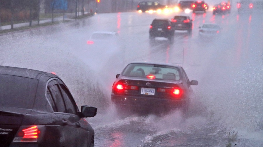 A heavy rainfall on Nov. 16 and 17, 2019, caused widespread street flooding across Metro Vancouver. (Shane MacKichan)