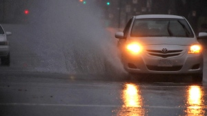 Heavy rainfall on Nov. 16 and 17 caused flooding on many streets across Metro Vancouver. (Shane MacKichan)