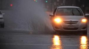 Heavy rainfall on Nov. 16 and 17 caused flooding on many streets across Metro Vancouver. (Shane MacKichan)