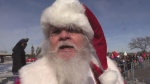 Santa Claus arrives to Devonshire Mall by helicopter