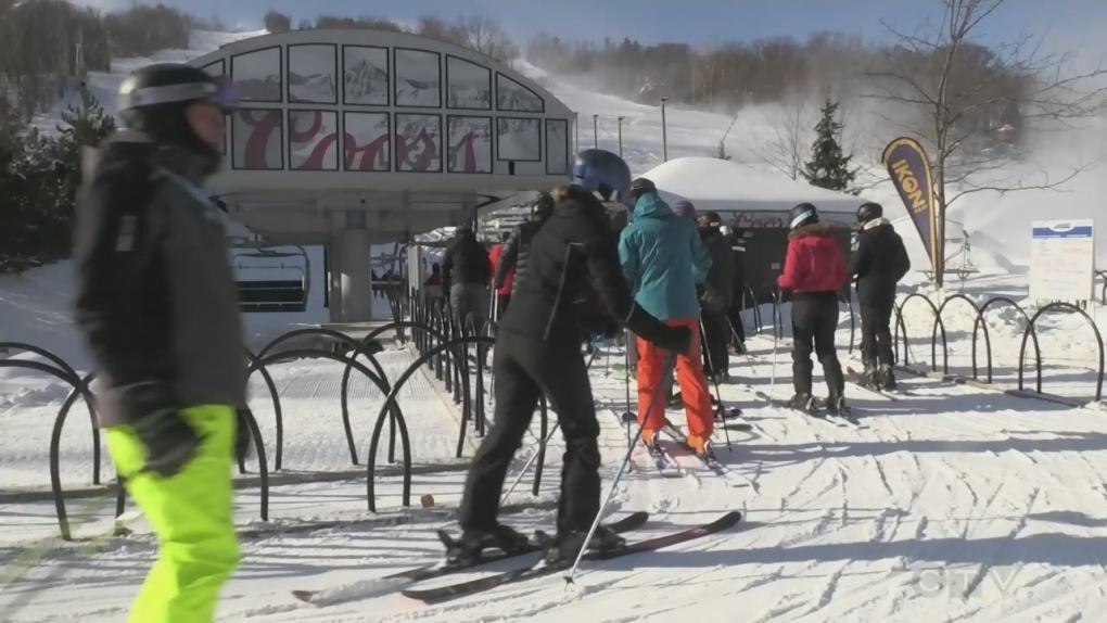 Unseasonalble weather prompts historic start to ski season
