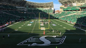 Mosaic Stadium prior to 2019 CFL West Final