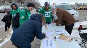 Wexit Saskatchewan petition signing Nov. 17, 2019