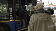 Transit strike continuing Monday