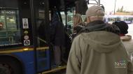 Transit strike continuing Monday