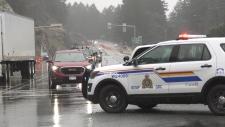 Rockslide stalls traffic