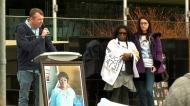 Debbie Onwu rally, Nov. 17