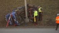 Deerfoot Trail, fatal, crash, collision, Nov. 17