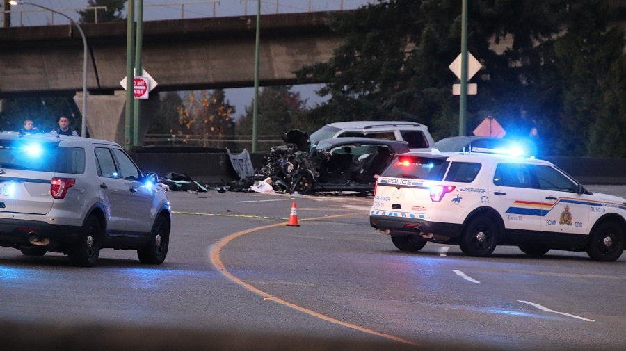 Serious crash in Burnaby