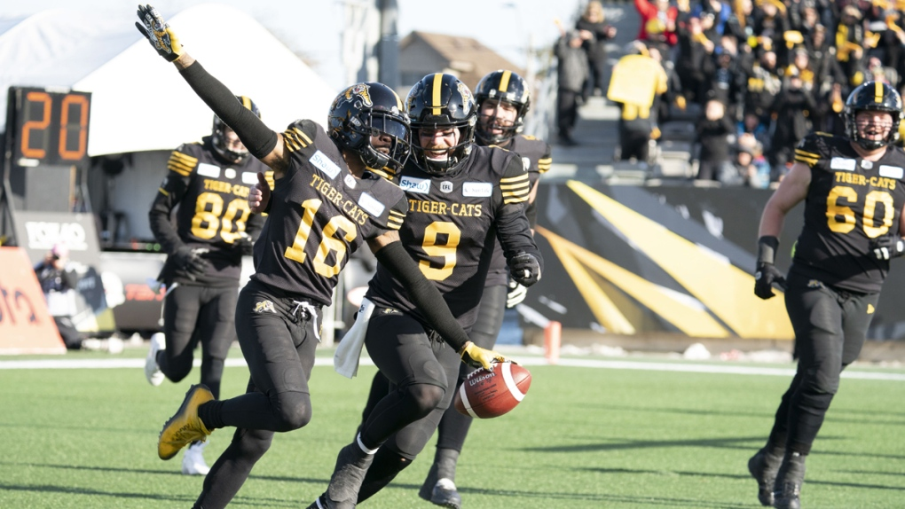 Hamilton Tiger Cats wide receiver Brandon Banks