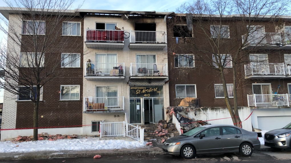 Laval man who allegedly set apartment on fire during fight with spouse to be charged with attempted murder