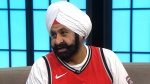 Raptors superfan Nav
