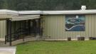 The exterior of John Howitt Elementary School in Port Alberni, B.C. is shown.