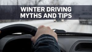 Tips, myths debunked for safer winter driving