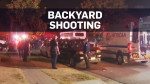 Gunman opens fire on people watching football