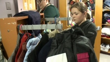 Students pay-it-forward with caring closet