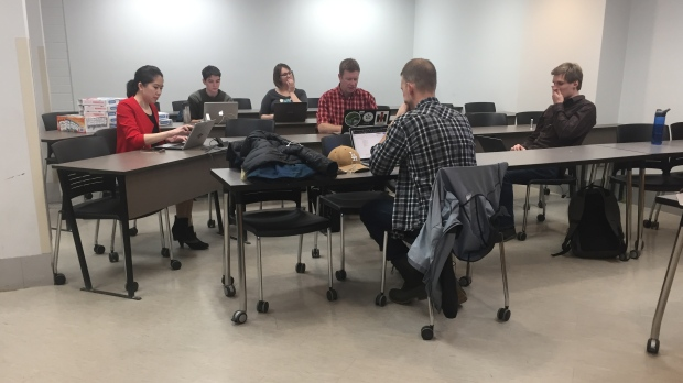 U of S law students stage 'research-a-thon' to tackle climate change