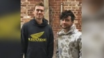 Popular London music duo take #iPledgeChallenge